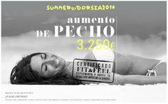 Aumento de pecho, precio exclusivo en julio en Clínicas Dorsia. Vive el verano de tu vida.