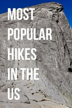 Half Dome Permits are incredibly difficult to get + The 11 Most Popular Hikes in the US #halfdome #california #hikes #hiking #outdoors #outdoorsusa // localadventurer.com