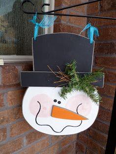 Make & Take: Snowman for Post