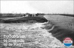 Watersnood 1953 Sliedrecht (jaartal: 1950 tot 1960) - Foto's SERC