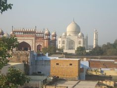 beautiful Taj Mahals view