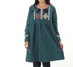 Sweet lovely long sleeved doll dress by MaLieb on Etsy, $72.00