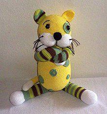 Návody a literatúra - háčkovaný kocúrik Barvínek-návod - 4646965_ Crochet Toys, Tweety, Fictional Characters, Fantasy Characters