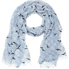 Official scarf for the wedding: Kate Spade New York Birds Over Arches Scarf