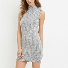 NWT knit dress never worn still has tags, received this in the mail yesterday however its a little too big. Its size xs but would fit a person who is size small or medium the best✨ Forever 21 Dresses