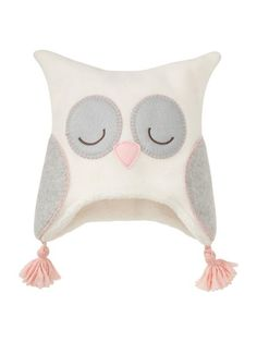Fleece Owl Hat @Stephanie AnastasiaRuby. I watch your all your name videos and baby vlogs! This made me think of your owl theme and Juliette. :)