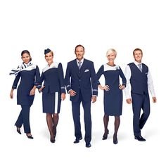 Finnair new flight attendant uniform ~ World stewardess Crews