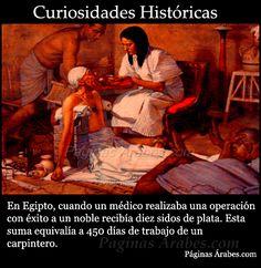 Curiosidades históricas: médicos en el AntiguoEgipto