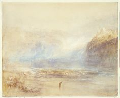 Falls of the Rhine at Schaffhausen - Distant View