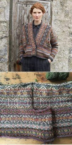 Knitting Patterns Wear Lerwick (Fair Isle Club by Marie Wallin Fair Isle Knitting Patterns, Jumper Patterns, Knitting Stitches, Free Knitting, Sock Knitting, Punto Fair Isle, Motif Fair Isle, Fair Isle Pattern, Creative Textiles