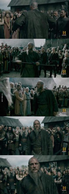 #Vikings KING scene
