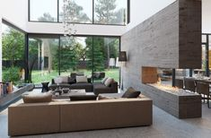 Salon moderne design en 47 idées magnifiques par Alexandra Fedorova