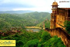 DO  HISTORICAL FORTS ATTRACT YOU THEN HERE IS A MUST SEE !!  JaigarhFort is situated on the promontory called the Cheel ka Teela of the Aravalli range, is the most spectacular of the three-hilltop forts that overlooks  Jaipur.   #JaigarhFort, #Jaipur http://godelhi.net/rajasthan-tours/