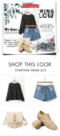 """romwe 10"" by amelaa-16 ❤ liked on Polyvore featuring Zara"
