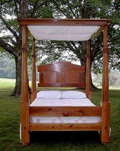 Classical bed by Thomas Day 1830s