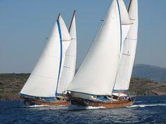 sailing in Turkey - gulets
