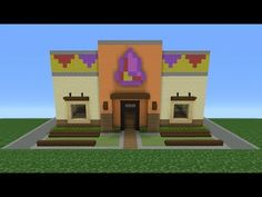 Minecraft Tutorial: How To Make A Taco Bell (Restaurant) - YouTube ...