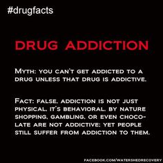 drug recovery myths