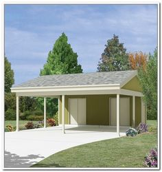 Carport With Storage Plans