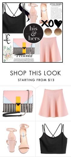 """""""#73"""" by annahoran28 on Polyvore featuring мода, Iceberg, WithChic, Steve Madden и Victoria Beckham"""