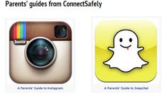 If you are like me and don't really understand Instagram and Snapchat and the implications for kids - read these guides!