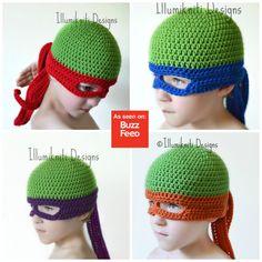 Haaaaaya! Machen Sie sich bereit, die Kanalisation mit diesem tollen Hut zu regieren, die Kinder und Erwachsene werden einen Kick aus der! Sie können die Maske Farbe entscheiden Sie im Dropdown-Menü oben rechts. ~ ~ Fügen Sie passende fingerlose Handschuhe für zusätzlichen Spaß! ~ ~ https://www.etsy.com/ca/listing/210874825/turtle-ninja-gloves-crochet-fun-made-to?ref=shop_home_active_1 Hinweis *** - eine Kindergröße passt kein Kleinkind richtig da die Aug...