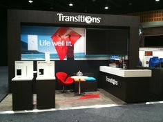 Transitions Exhibition Stand Created by ARC4D