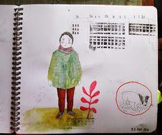Carolina Bernal: sketchbook