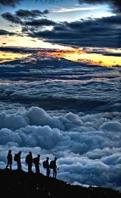 Sunrise on Kilimanjaro by : Hudson Henry