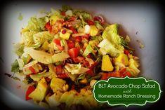 BLT Avocado Chop Salad