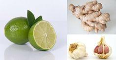 Thumb Reduza a pressão alta usando essa combinação de alho, limão e gengibre