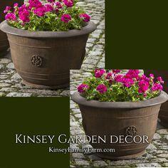Brenta Planter Medium Outdoor Flower Pot | Kinsey Garden Decor