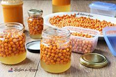 Cum prepari cătină cu miere la borcan. Beneficii și contraindicații - Lecturi si Arome Beans, Canning, Vegetables, Recipes, Food, Recipies, Essen, Vegetable Recipes, Meals