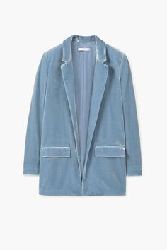 This Store Has Basically Everything You Could Possibly Need Right Now #refinery29  http://www.refinery29.com/mango-clothing-for-women#slide-13  Throw this blazer over your favorite tee and flared trousers. Mango Velvet Blazer, $149.99, available at Mango....