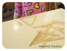 Forming Shapes | Preschool Creations