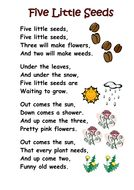 Themed poems – seeds and plants – Free! A selection of themed poems on the topic of seeds, growth, plants and planting. Perfect for kindergarten and first grade. Themed poems – seeds and plants – Free! A selection of themed poems on the topic… Kindergarten Poems, Preschool Songs, Spring Songs For Preschool, Preschool Education, Preschool Themes, Spring Activities, Preschool Crafts, Kids Poems, Children Songs