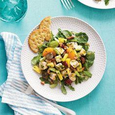 Main-Dish Salads: Mixed Fruit Chicken Salad