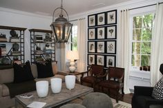 ASO Decorators' Show House & Gardens- I have the prints, need to get them framed.