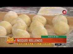 Receta de hoy: Ñoquis rellenos y Croque Monsieur Baguette, Ariel Rodriguez Palacios, Relleno, Hamburger, Fat, Bread, Youtube, Noodle, Gnocchi Recipes