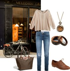 """""""to the bookstore"""" by shell-syue on Polyvore"""