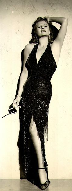 Rita Hayworth in Affair in Trinidad 1952.......Uploaded By www.1stand2ndtimearound.etsy.com