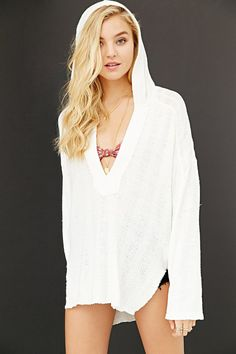 Ecote The Wanderer Hooded Top - Urban Outfitters