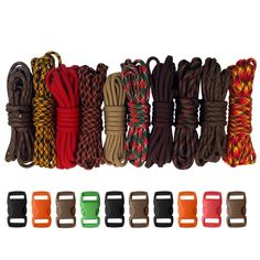 Paracord Planet 550lb Type III Paracord Combo Crafting Kits with Buckles * Check out this great product. (This is an affiliate link) #Paracords