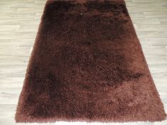 Soft Shaggy Rug Chocolate Brown Size: 155 x Shaggy Rug, Machine Made Rugs, Rugs Online, Chocolate Brown, Traditional, Stuff To Buy, Beautiful, Design, Style