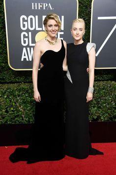 Saoirse Ronan: 2018 Golden Globe Awards -01