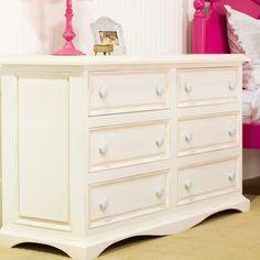 Newport Cottages Taylor 6 Drawer Dresser @LaylaGrayce
