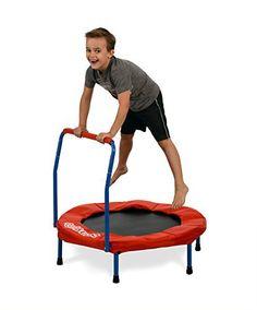 "Kangaroo's 36"" Kids Trampoline, Indoor Trampoline For Kids - http://www.exercisejoy.com/kangaroos-36-kids-trampoline-indoor-trampoline-for-kids/fitness/"