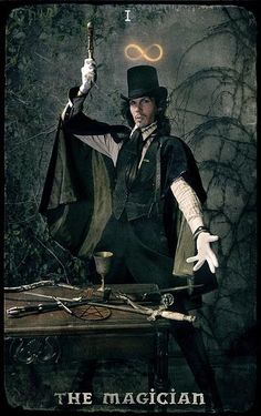 The Magician Card / Photography and Art by Taslimu