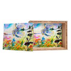 Ginette Fine Art Nosy Hibiscus Flower Storage Box | DENY Designs Home Accessories