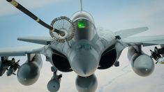 A French air force Dassault Rafale refuels from a U.S. Air Force KC-10 Extender from the 908th Expeditionary Air Refueling Squadron during a Combined Joint Task Force - Operation Inherent Resolve mission March 20, 2017. The KC-10 provides aerial refueling capabilities for U.S. and coalition aircraft as they support Iraqi Security Forces and partnered forces as they work to liberate territory under the control of IIS/Daech.